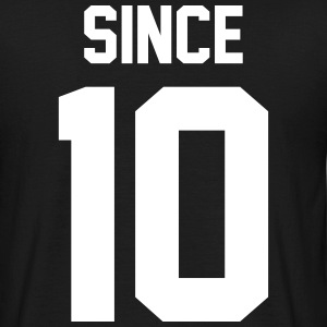 Since 10 Tee shirts - T-shirt Homme