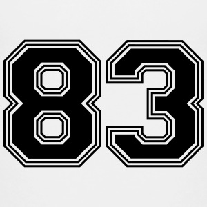 83_number_83_(s31) Shirts - Teenage Premium T-Shirt