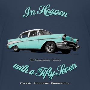 Teenage Premium T-Shirt 57 Chevy | Classic Amer - Teenage Premium T-Shirt