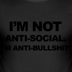 Anti Bullshit T-shirts - slim fit T-shirt