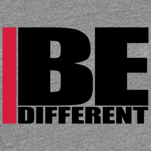 Cool Be Different Logo T-Shirts - Women's Premium T-Shirt