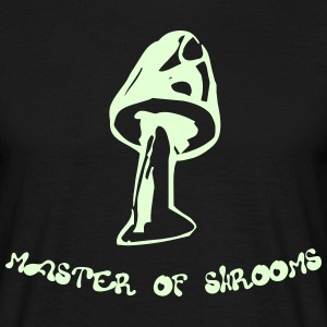 MASTER OF SHROOMS GLOW T-Shirt - Men's T-Shirt