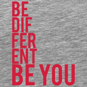 Be Different Be You Logo T-Shirts - Men's Premium T-Shirt