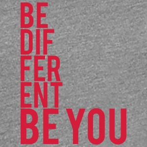 Be Different Be You Logo T-Shirts - Frauen Premium T-Shirt