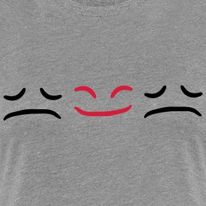 Happy Face Sad different Be Different T-Shirts - Women's Premium T-Shirt