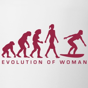 evolution_of_woman_surfing_092014_b_1c Flaschen & Tassen - Tasse