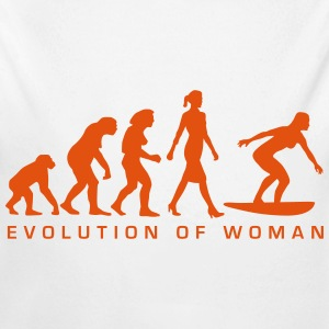 evolution_of_woman_surfing_092014_b_1c Pullover & Hoodies - Baby Bio-Langarm-Body