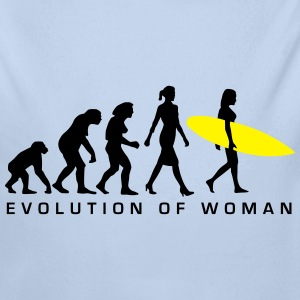 evolution_of_woman_surfing_092014_c_2c Pullover & Hoodies - Baby Bio-Langarm-Body