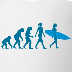 evolution_of_woman_surfing_092014_d_2c Flaschen & Tassen - Tasse