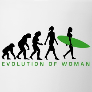 evolution_of_woman_surfing_092014_e_2c Flaschen & Tassen - Tasse