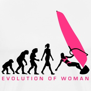 evolution_of_woman_windsurfing_092014_a_ T-Shirts - Männer Premium T-Shirt