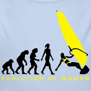 evolution_of_woman_windsurfing_092014_a_ Pullover & Hoodies - Baby Bio-Langarm-Body