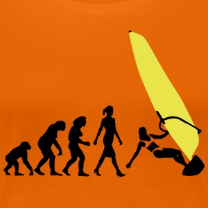 evolution_of_woman_windsurfing_092014_b_ T-Shirts - Frauen Premium T-Shirt