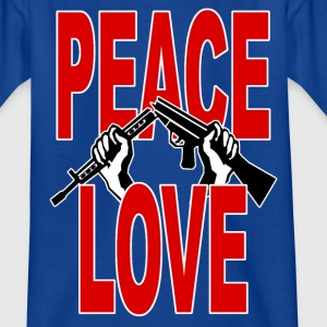 peace symbol 3 Shirts - Teenage T-shirt