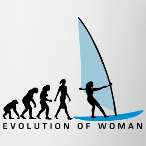 evolution_of_woman_windsurfing_092014_d_ Flaschen & Tassen - Tasse