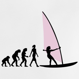 evolution_of_woman_windsurfing_092014_e_ T-Shirts - Baby T-Shirt