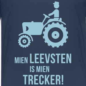 Mien Leevsten Is Mien Trecker! (Plattdeutsch) T-Shirts - Teenager Premium T-Shirt