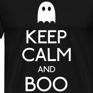 Keep Calm and Boo T-Shirts - Männer Premium T-Shirt