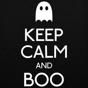 keep calm and boo bevare roen og boo Tasker & rygsække - Mulepose