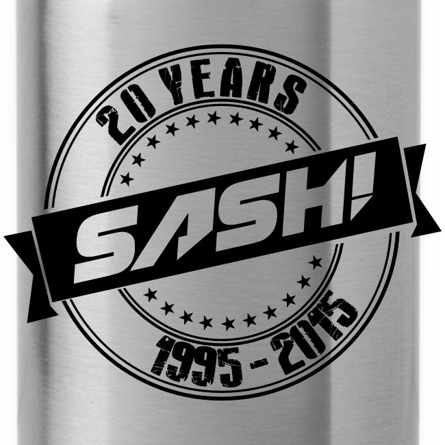 SASH! 20 Years Bottle