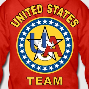 united states Hoodies & Sweatshirts - Men's Premium Hooded Jacket