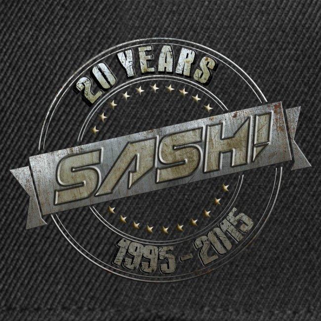 Snapback Cap SASH! 20 Years