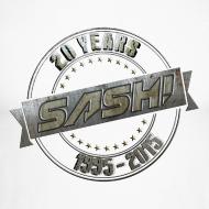 Design ~ Men Baseballshirt SASH! 20 Years