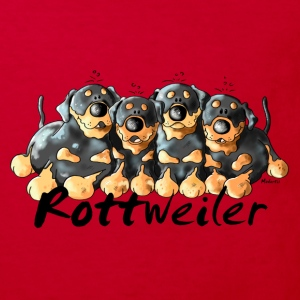 Four Funny Rottweiler - Dog - Dogs Shirts - Kids' Organic T-shirt