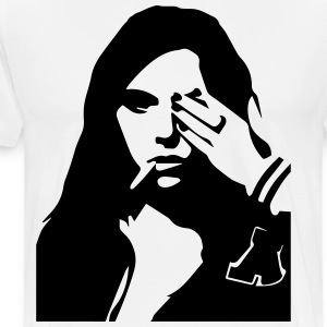 Smokin Woman - Männer Premium T-Shirt