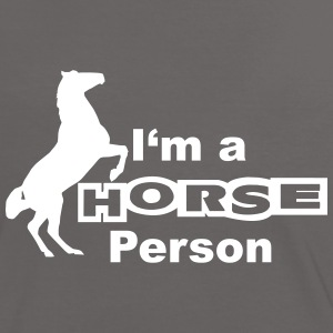 I'm a Horse Person Tee shirts - T-shirt contraste Femme