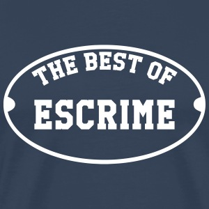 The Best of Escrime T-shirts - Herre premium T-shirt