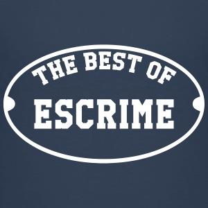The Best of Escrime Shirts - Teenage Premium T-Shirt