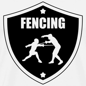 Fencing Tee shirts - T-shirt Premium Homme
