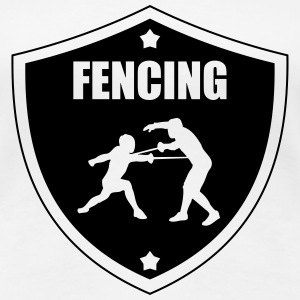 Fencing Tee shirts - T-shirt Premium Femme