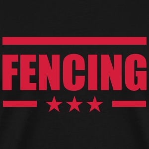 Fencing T-shirts - Herre premium T-shirt