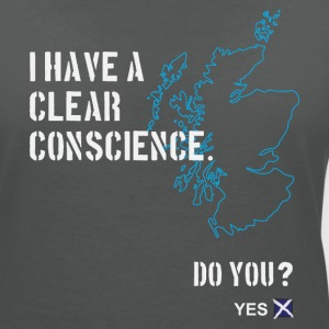 Clear Conscience T-Shirts - Women's V-Neck T-Shirt
