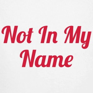 Not In My Name Pullover & Hoodies - Baby Bio-Langarm-Body