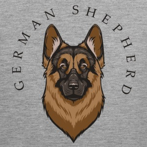 German Shepherd Tank Tops - Men's Premium Tank Top