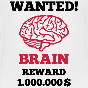 Brain - Wanted Shirts - Kids' Premium T-Shirt