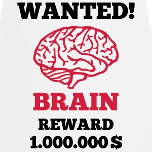 Brain - Wanted  Aprons - Cooking Apron