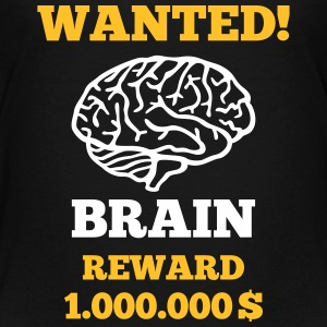Brain - Wanted Shirts - Teenage Premium T-Shirt