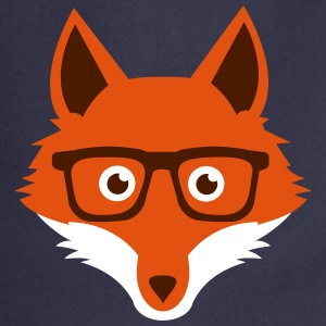 Sweet Funny hipster fox with nerd glasses  Aprons - Cooking Apron