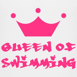 Queen of Swimming T-shirts - Børne premium T-shirt