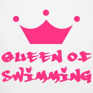 Queen of Swimming Sweaters - Baby bio-rompertje met lange mouwen