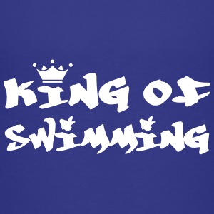 King of Swimming Camisetas - Camiseta premium adolescente