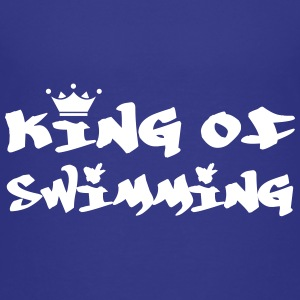 King of Swimming Camisetas - Camiseta premium niño