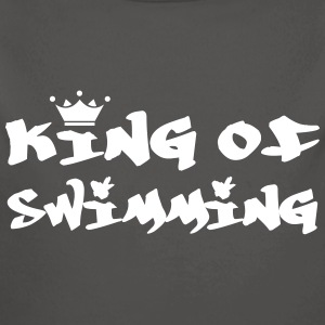 King of Swimming Felpe - Body ecologico per neonato a manica lunga