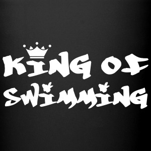 King of Swimming Bottiglie e tazze - Tazza monocolore