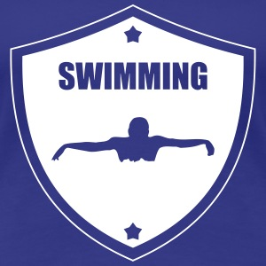 Swimming T-shirts - Dame premium T-shirt