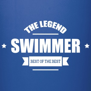 Swimmer The Legend Bottles & Mugs - Full Colour Mug